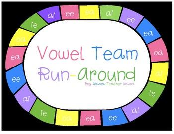 Vowel Team Run-Around