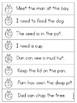 Vowel Team Sentence Practice (ai,ay,ee,ea,oa,ow)