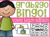 Vowel Team Solo Bingo