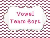 Vowel Team Sort