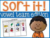 Vowel Team Sort It!