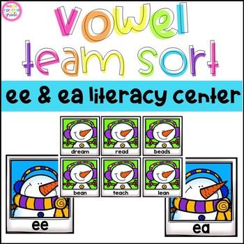 Vowel Team Sort: ee and ea