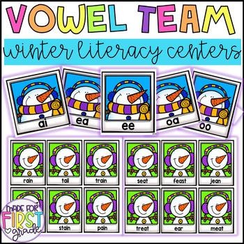 Vowel Team Sorts: Literacy Centers