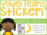 Vowel Team Stickem'