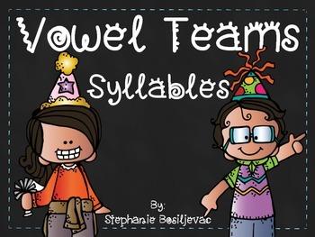 Vowel Team Syllables