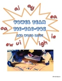 Vowel Team Tic-Tac-Toe and Word Lists (6 GAMES and LISTS!)