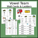 Vowel Team Wall Cards & Ladders