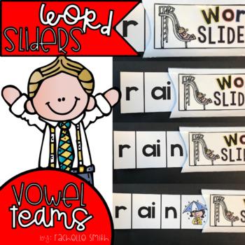 Vowel Team Word Sliders (Blending Practice)