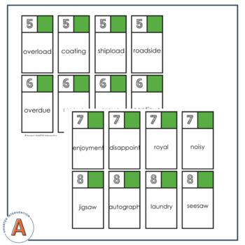 Vowel Team Words War - Multisyllable Edition