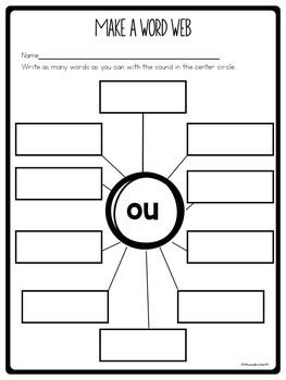 Vowel Team Worksheets ou