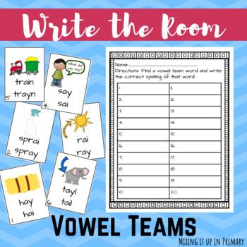 Vowel Team Writing