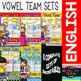Vowel Team (a-e-i-o-u) Bundle of Printables (Color and B&W