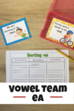 Vowel Team -ea