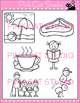 Long e Vowel Sound - Vowel Team 'ea' Phonics Clip Art Set - Commercial Use Okay