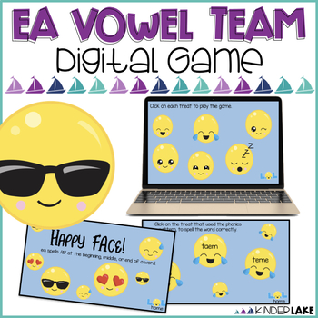 Vowel Teams: ea Interactive Game