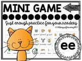 Vowel Team ee Phonics Mini Game