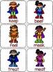 Vowel Team Game: Superhero Theme