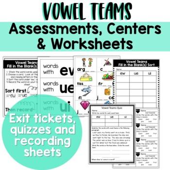 Long Vowel Teams: The Bundle