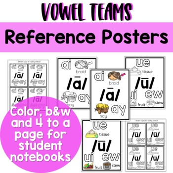 Long Vowel Teams Bundle: Worksheets, Reading Passage, Assessments and MORE!