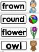 Vowel Teams! A Phonics Unit: ou - ow