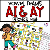 Long Vowel A Phonics Unit AI & AY