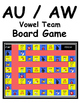 Vowel Teams AU and AW Literacy Centers