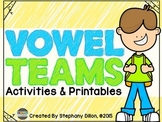 Vowel Teams { Activities & Printables }