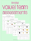 Vowel Teams Assessment