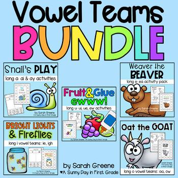 Vowel Teams BUNDLED! {5 packs!}