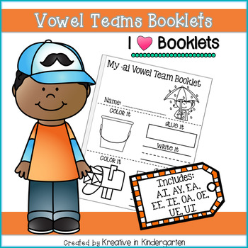 Vowel Teams Booklets