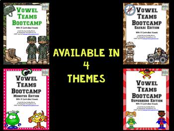 Vowel Teams Bootcamp Army Edition