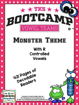Vowel Teams Bootcamp Monster Edition