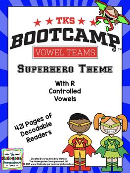Vowel Teams Bootcamp Superhero Edition