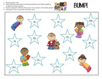 Vowel Teams: Bump Game