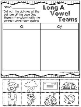Vowel Teams Bundle