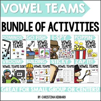 Vowel Teams Bundle of Activities