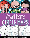 Vowel Teams Circle Maps