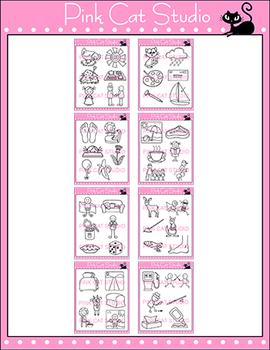 Clip Art Vowel Teams Clip Art Bundle - Phonics Clipart Set - Commercial Use Okay