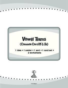 Vowel Teams (Common Core RF.1.3c)