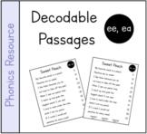 Vowel Teams (ee, ea) Decodable Passage