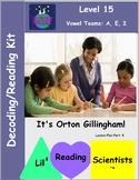 Vowel Teams - Decodable Stories, Sentences, Word Cards (Lo