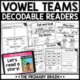 Vowel Teams Digital Guided Reading Boom Cards™ & Google Sl