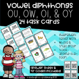 Vowel Teams (Diphthongs) Task Cards- ou/ow & oi/oy