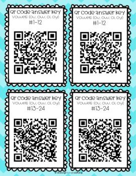 Vowel Teams (Diphthongs) Task Cards- ou/ow & oi/oy
