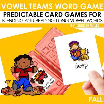 Vowel Teams:  Fall
