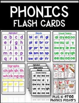 Vowel Teams Flash Cards