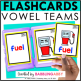 Vowel Teams Flashcards