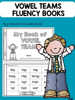 Vowel Teams Fluency Book