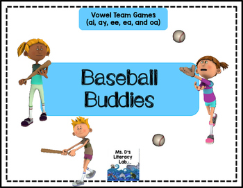 Vowel Teams (Baseball)