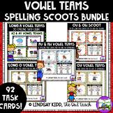 Vowel Teams Games:  Spelling SCOOTS